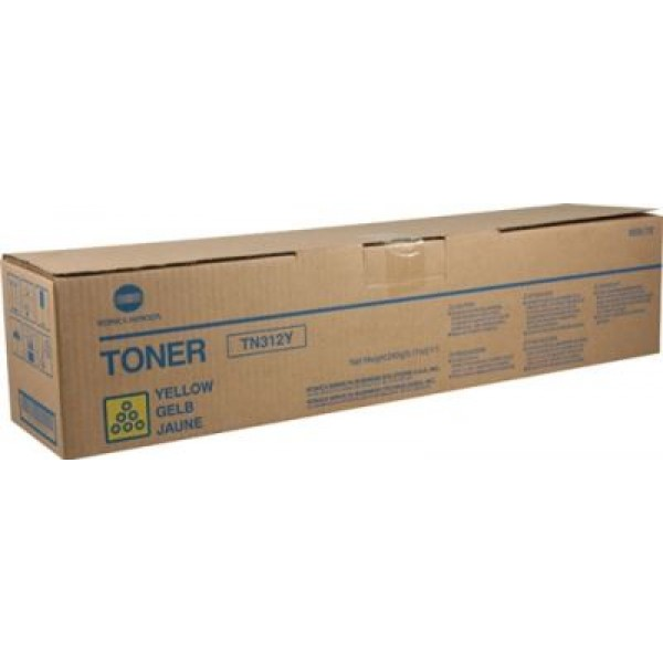 Тонер TN312 Yellow оригинален - Bizhub C300/C352/C352P